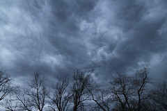 Sky (Pythaglio) Tags: county trees sky clouds grey spring cloudy michigan ominous foreboding pleasant hillsdale