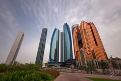 18032016-IMG_5873 copy (aureliobard) Tags: etihad towers emirates palace uae abu dhabi allah sheik khalifa dubai tower skyscraper le exposition long partly cloudy parzialmente nuvoloso vento forte
