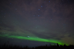Meteoric Aurora (GSFC Photo Club) Tags: winter sky cloud weather alaska night clouds stars landscape cloudy outdoor space ak science astrophotography aurora astronomy meteor fairbanks northernlights auroraborealis