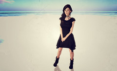 Five (Lalie Sorbet SL) Tags: portrait woman scenery expression femme avatar sl attitude fantasy secondlife paysage sim srie poses chouchou virtualit virtuality metaverse virtualworld incarnation fantasme mondevirtuel
