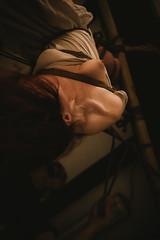 Tenshiko (Photoptarmosis) Tags: girl beauty fetish 50mm erotic suspension indoor bondage rope bdsm pale redhead kirigami 5d ropes lowkey canoneos hanged shibari kinbanku peerrope tenshiko