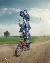 Trevor (loganzillmer) Tags: pbr moped conceptualphotography conceptualimage