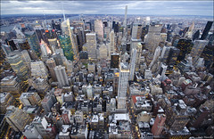 Nueva York!!! (lautada) Tags: city usa newyork rooftop night atardecer unitedstates ciudad empirestate anochecer estadosunidos nuevayork