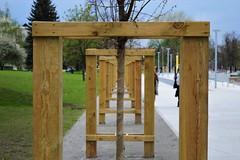 Frames (kali_fonia) Tags: city trees frames poland symmetry frame framing citz wrocaw