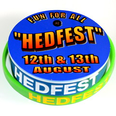 HedFest 16 - Badge and Wristbands (Ray Duffill) Tags: festival badge wristband hedon hedfest16