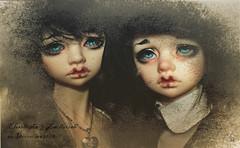 Odd Memories (Chantepierre) Tags: asian photo twins doll vampire creepy full bjd custom dim fc custo balljointed balljointeddoll dollinmind fullcusto bellosse ladicius chantepierre