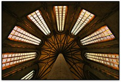 Palmier d'ogives, glise des Jacobins, Toulouse (Jess Cano Snchez) Tags: france canon frana convento toulouse convent francia eos20d tolosa midipyrenees hautegaronne efs1022 elsenyordelsbertins nautagarona gleisa altagarona quelestcelieu