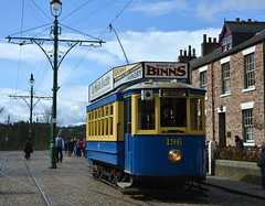 Electric Tram (Colin McLurg) Tags: blue vintage tram beamish tramlines beamishmuseum electrictram shopatbinns colinmclurg
