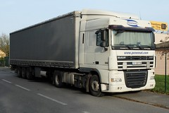 """DAF XF 105.410 Semi-Remorque Tautliner """"Penemat"""" (BG) (xavnco2) Tags: france truck lorry camion trucks picardie daf lkw semitrailer somme xf autocarro longueau tautliner semiremorque curtainside"""