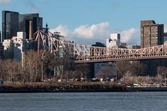 Queensboro Bridge (Francis Mansell) Tags: bridge newyork building manhattan structure queens eastriver queensborobridge rooseveltisland longislandcity 59thstreetbridge cantileverbridge edkochqueensborobridge