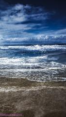 17th ocean (anastase.papoortzis) Tags: blue brazil white nature brasil clouds landscape sand natureza florianpolis paisagem santacatarina canon5dmkiii canon5dmarkiii canonefs70200mmf28