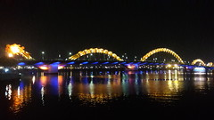 I like Đà Nẵng a lot. They really know how to do bridges and riverfront here, and the massive beach paired with gorgeous mountains makes for some real treats. (-Mainman-) Tags: asia vietnam april southeast 2016