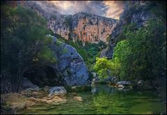 Reflejos en el rio (antoniocamero21) Tags: color rio andaluca guadalquivir foto sony sierra rbol montaa rocas jan cazorla reflejos