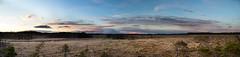 Panorama Blngsmossen (EmilJoh) Tags: sunset sky panorama nature clouds forest canon evening sweden naturereserve late earlyspring skvde naturereserv blngsmossen