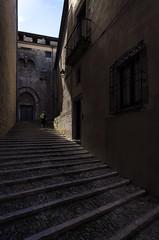 el Tate por las calles de Girona tratando de escapar del rayo Divino (alcachofa1960) Tags: maana girona catalua gameofthrones