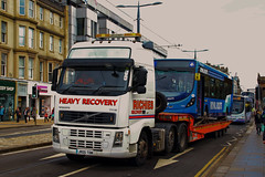 Street##ite (63260 & JR05TOW) (Steven Atkinson) Tags: street st scotland volvo first east 405 wright princes carlisle xl jacksons globetrotter 460 fh12 streetlite egertons 63260 sn65ojj