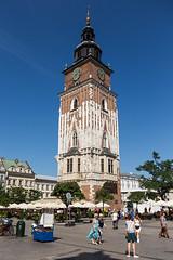 Town Hall Tower (Erik Strahm) Tags: tower town hall poland krakow krakw pl townhalltower maopolskie europe2015