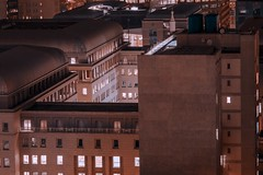 Johannesburg (elsableda) Tags: africa city light urban rooftop window architecture night canon buildings southafrica lights long exposure view south johannesburg joburg jozi