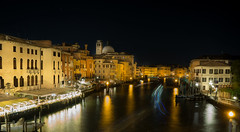 Grand Canal of Lights! (aliffc3) Tags: venice italy landscape europe waterfront venezia canalgrande sigma19f28 sonya6000