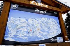 Altiport ski map (A. Wee) Tags: france alps meribel altiport  troisvalles les3valles