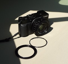 2016 0424 061 (LDLUX4) Battered camera; Duckpool (Lucy Melford) Tags: lens rings detached panasoniclx100