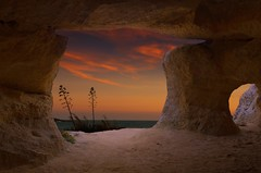 cave on the sea (Marco Brunetti) Tags: sunset sea seascape mediterraneo sicily cave pentaxk30 mefotoroadtrip hdpentaxda1685