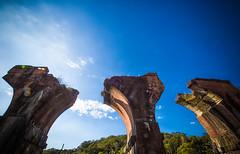 GTJ-2016-0501-1 (goteamjosh) Tags: abandoned train taiwan  miaoli   sanyi dragonbridge taiwanesehistory   longtengbrokenbridge  sanyitownship taiwanrailways japanesecolonialera yutengpingbridge longtendbridge