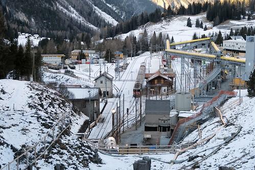 Preda - Tunnel construction site