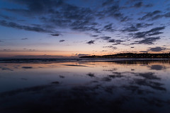 Luz de Oscuridad (Light of Darkness) (Dibus y Deabus) Tags: sky españa beach clouds dawn spain gijón asturias playa amanecer cielo nubes gijon playadesanlorenzo