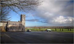 Glenlo Abbey (EoinGardiner) Tags: ireland sun storm galway abbey rain golf rainbow lough corrib flood course glenlo