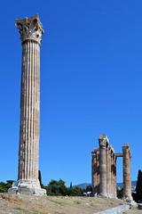 Olympian Zeus 6 (PhillMono) Tags: travel heritage history temple nikon empty pillar ruin athens tourist greece zeus corinthian classical column dslr relic hellenistic olympian d7100
