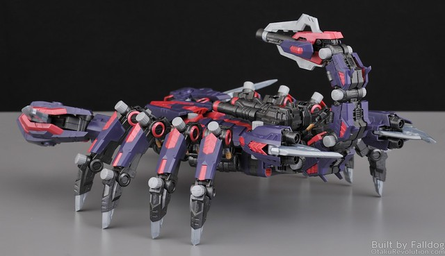 HMM Zoids - Death Stinger Review 25 by Judson Weinsheimer
