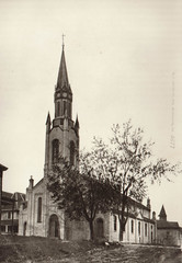 St. Mary's Church Exterior, Early B&W
