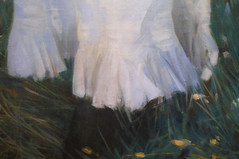 Sargent, Carnation, Lily, Lily, Rose (detail), 1885-86