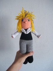 Jareth, el Rey de los Goblins. (Miss Carlaina Love!) Tags: david art kids toys bowie knitting dolls crochet cine movies amigurumi labyrinth pelculas colection