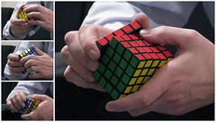 065/365: Solved! (Kelvin P. Coleman) Tags: nottingham canon indoor powershot puzzle cube series 365 professor rubiks advanced logic brainpower