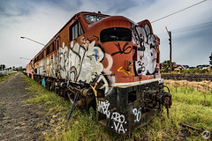 Tempe Trains (Explored Visions) Tags: abandoned train trains adventure explore engines derelict tempe urbex rollingstock