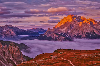 Abendstimmung in Südtirol
