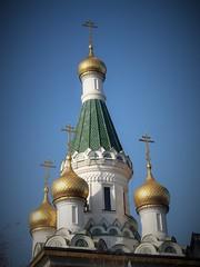 Golden Onion Domes. (young shanahan) Tags: winter sofia bulgaria balkans