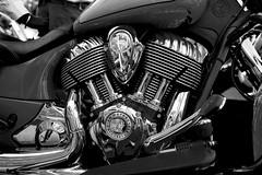 Indian Chief Vintage 1811cc... (mehtasunil) Tags: travel blackandwhite monochrome bike metal indian machine vehicle cruiser meanmachine leicalens leicaq leicaworld leicaimages lifewithleica