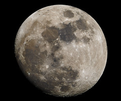 Moon - 95% Waxing Gibbous (djryan78) Tags: moon rock canon space au australia victoria craters telescope crater astrophotography astronomy dslr lunar gibbous waxing solarsystem refractor skywatcher ed100 canon70d boxhillsouth skywatchered100