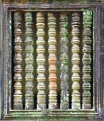 Window at Angkor Wat Temple (Ersin Demir) Tags: window colors temple ancient cambodia angkorwat siemreap