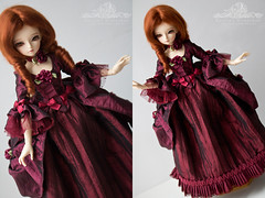 . commission . (kalcia) Tags: doll historical bjd dollfie superdollfie fairyland abjd rococo miyu msd mnf minifee historicalclothing bjdclothing