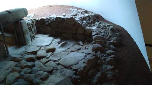 Ruínas romanas na estação de caminhos de ferro