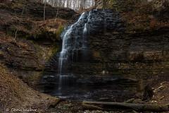 Gentle Tiffany (awaketoadream) Tags: light ontario canada flow waterfall december low hamilton falls southern mm 35 tiffany ancaster 2015