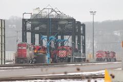 SOO 6027 (CC 8039) Tags: eye minnesota st yard paul trains pigs cp soo kcs sd402 sd60 ac44cw sd70ace