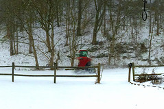 Glimpse Into Another Dimension (rcvernors) Tags: snow strange truck weird action wv crop snowing blizzard snowday onawv rcvernors howellsmillroad rickchilders glimpseintoanotherdimension