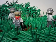Normandy 1944 (domkdr22) Tags: scene ww2 1944 battleofnormandy germansoldiers legowar legoww2 legohistory legogermanarmy