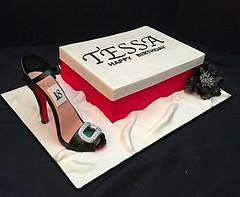 Shoe cake by Amy, Northern Utah, www.birthdaycakes4free.com