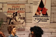 The obligatory cult film posters. (moogirl2) Tags: miniatures hipster movies stanleykubrick 90s russmeyer aclockworkorange cultfilm fasterpussycatkillkillkill 90spopculture hipsterbarbie hipsterken